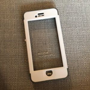 White Life Proof iPhone 6 case